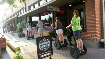 Segway tours in downtown McKinney TX